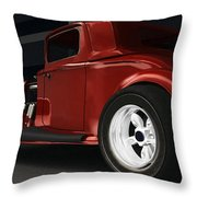 New Kid In Town Throw Pillow