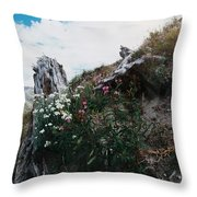 New Life Mt Saint Helens Wa Throw Pillow