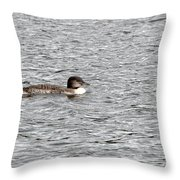 New Loon Throw Pillow