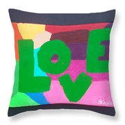 New Love Generation Throw Pillow