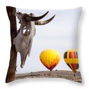 New Mexico Morning Throw Pillow