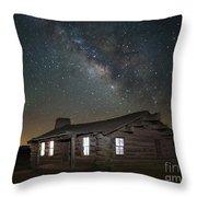 New Mexico Night Sky Throw Pillow