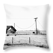 New Mexico Roadside Throw Pillow