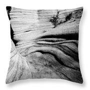 Kasha-katuwe Tent Rocks National Monument 3 Throw Pillow