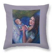New Momma Throw Pillow