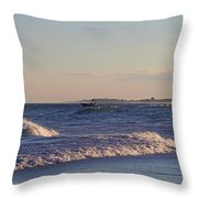 New Old Inlet I I Throw Pillow