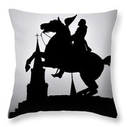 New Orleans Memory 1 Throw Pillow