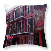 New Orleans 2004 #6 Throw Pillow