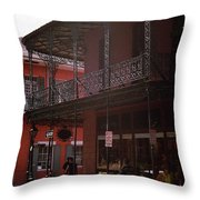 New Orleans 2004 #7 Throw Pillow