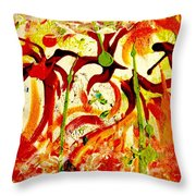 New Orleans After Hours Throw Pillow