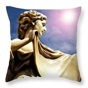 New Orleans Angel Throw Pillow