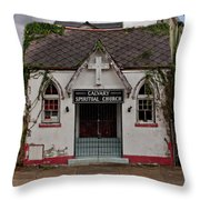 New Orleans Chapel Throw Pillow