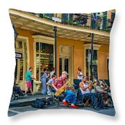 New Orleans Jazz 2 Throw Pillow