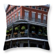 New Orleans La Throw Pillow