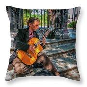 New Orleans Musician - Chris Craig Throw Pillow