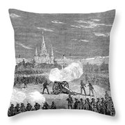 New Orleans: Riot, 1873 Throw Pillow