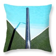 New Orleans Rooftop Pool Throw Pillow
