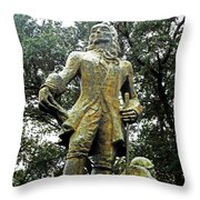New Orleans Statues 1 Throw Pillow