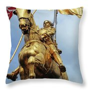 New Orleans Statues 13 Throw Pillow