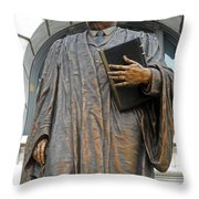New Orleans Statues 5 Throw Pillow