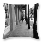 New Orleans Street Photography 1 Throw Pillow