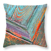New Orleans Textures Throw Pillow