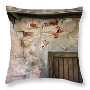 New Orleans Wall Throw Pillow