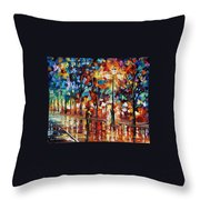 New Park Throw Pillow