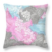New Space Throw Pillow