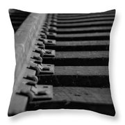 New Tracks Throw Pillow