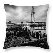Northern Spire Bridge 6 Throw Pillow