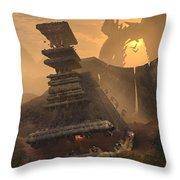 New World Order Throw Pillow