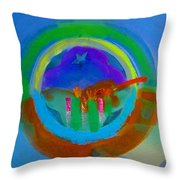 New World Spring Throw Pillow