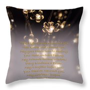 May Light Surround You Throw Pillow
