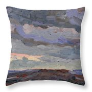 New Year Stratocumulus Throw Pillow