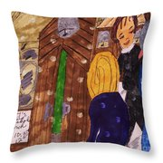 New Year's And Everyday Blessings  Throw Pillow