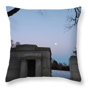 New Year's Eve Tranquility  Throw Pillow