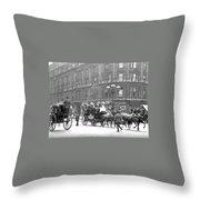 New York 1898 Throw Pillow