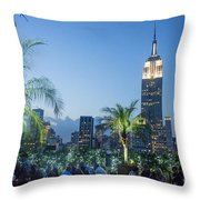 New York 230 Fith Rooftop Bar  Throw Pillow