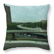 New York 3 Throw Pillow