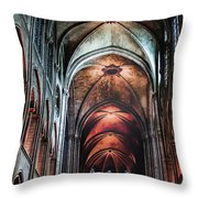 New York, Church Throw Pillow