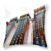 New York City 1 Throw Pillow