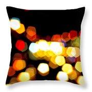 New York City Lights - My View Throw Pillow