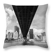 New York City - Queensboro Bridge Throw Pillow