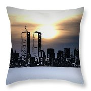 New York City - The Way We Were Throw Pillow