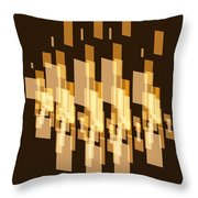 New York City Window Reflection. Throw Pillow