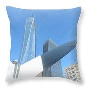 New York Freedom Throw Pillow