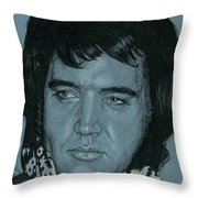 New York Hilton 1972 Throw Pillow