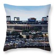 New York Mets Citi Field Throw Pillow