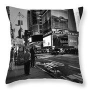 New York, New York 1 Throw Pillow